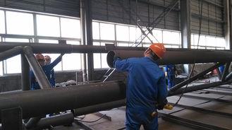 China Vor-Technik Komponenten-Baustahl-Herstellungen für industrielles Stahlgebäude fournisseur
