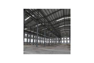 China Galvanisierte Baustahl-Herstellungs-Lager-Gebäude bedeckt durch Wand-Fassadenelement fournisseur